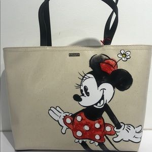 MINNIE MOUSE KATE SPADE TOTE